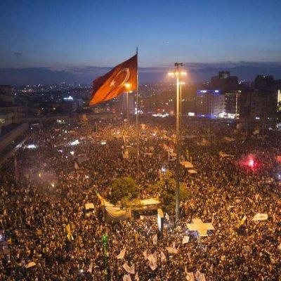 AKP'nin Baskılarına Karşı Gezi parkı gösterileri Haziran 2013
