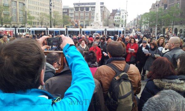 Gezi: Bir Kent Senfonisi - Amsterdam Dam Alanı 16 Kasım 2013