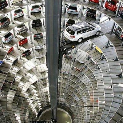 İşte Volkswagen ürettiği arabaları bu yapıda saklıyor!