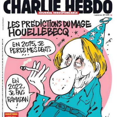 Charlie Hebdo'nun son kapağı
