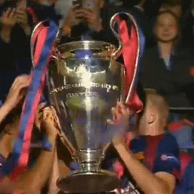 Barselona 2015 Avrupa Şampiyonlar Kümesi Kupasını da aldı...
