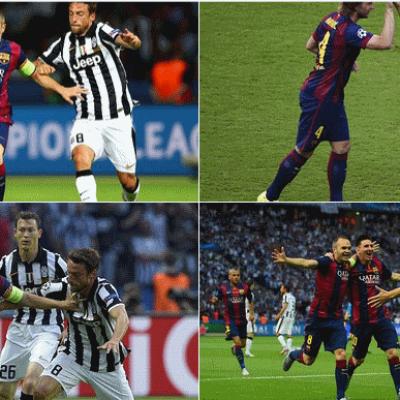 Barselona Juventus karşılaşmanın adamı Siniesta